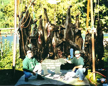 Trophy Black Bear Hunting, Allagash Wilderness Camps, St. Francis, Maine